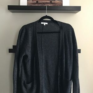 Madewell Gray Cardigan Sweater